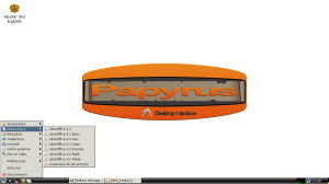 The office-softwares choice in the menu of Papyrus live CD