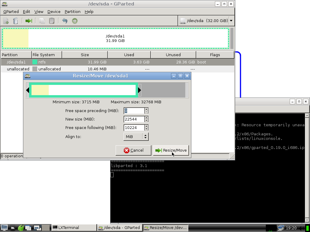 install albatros_resize_partition